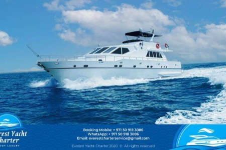 Everest Yacht Charter is a premier Dubai Marina