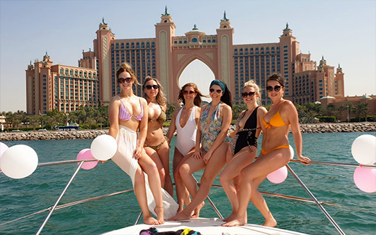 Girls only Party in Dubai
